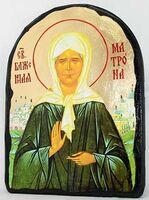 Матрона Московская, икона синайская, арка, 17 Х 23