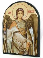 Арх. Михаил, икона синайская, арка, 17 Х 23