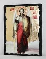 Арх. Михаил (рост), икона синайская, 13 Х 17