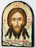 Спас Нерукотворный, икона синайская, арка, 17 Х 23