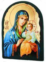 Неувядаемый цвет Б.М., икона синайская, арка, 17 Х 23