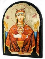 Неупиваемая чаша Б.М., икона синайская, арка, 17 Х 23