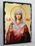 Ника Св.Мч., икона синайская, 13 Х 17