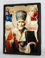 Николай Чудотворец в митре, икона синайская, 13 Х 17