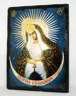 Остробрамская Б.М., икона синайская, 13 Х 17