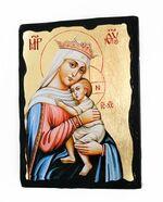 Отчаянных единая надежда Б.М., икона синайская, 13 Х 17