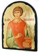 Пантелеймон, икона синайская, арка, 17 Х 23