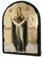 Покров Б.М., икона синайская, арка, 17 Х 23