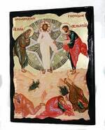 Преображение Господне, икона синайская, 13 Х 17