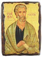 Родион, икона под старину, сургуч (13 Х 17)