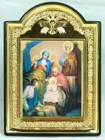 """Рождество Пресвятой Богородицы, икона пластиковая большая """"Голубь"""" 14 Х 19"""