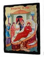 Рождество Пр.Б., икона синайская, 13 Х 17