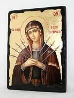 Семистрельная Б.М., икона синайская, 13 Х 17