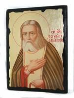 Серафим Саровский (пояс), икона синайская, 13 Х 17