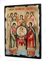 Собор Арх. Михаила, икона синайская, 13 Х 17