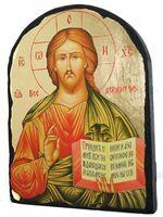 Господь-Вседержитель, икона синайская, арка, 17 Х 23