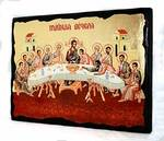 Тайная вечеря, икона синайская, 13 Х 17