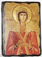 Татьяна, Св.Муч, икона под старину, сургуч (13 Х 17)
