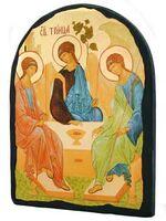 Троица, икона синайская, арка, 17 Х 23