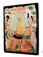 Успение Пр.Б., икона синайская, 13 Х 17