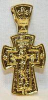 Крест нательный металл (1-34) литой цвет золото