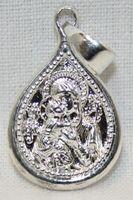 Образок нательный литой (25) Владимирская Б.М., цвет серебро