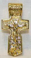 Крест нательный металл (1-31) литой цвет золото