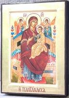 Всецарица Б.М., икона Греческая, 17 Х 23