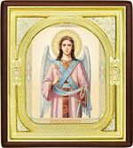 Ангел Хранитель, средняя аналойная икона, риза (Д-1с-03)