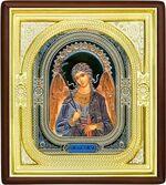 Ангел Хранитель, средняя аналойная икона, риза (Д-1с-04)
