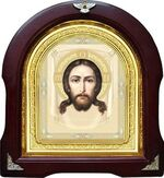 Спас Нерукотворный. Аналойная арочная икона (А-24)