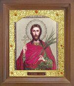 Иоанн Сочавский. Икона в деревянной рамке с окладом (Д-26псо-129)