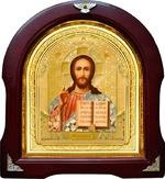 Спаситель. Аналойная арочная икона (А-17)