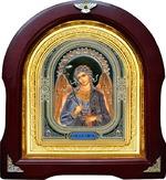 Ангел Хранитель. Аналойная арочная икона (А-04)