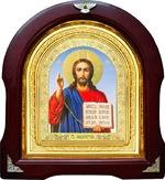 Спаситель. Аналойная арочная икона (А-20)