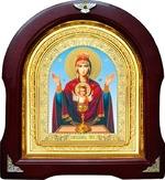 Неупиваемая чаша Б.М. Аналойная арочная икона (А-44)