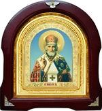 Николай Чудотворец. Аналойная арочная икона (А-26)