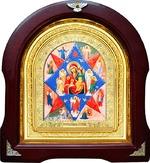 Неопалимая Купина Б.М. Аналойная арочная икона (А-41)
