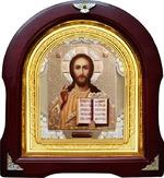 Спаситель. Аналойная арочная икона (А-16)