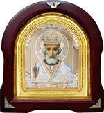 Николай Чудотворец. Аналойная арочная икона (А-29)