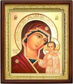 Казанская Б.М.,икона в деревянной рамке (Д-18пс-13)