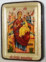Всецарица Б.М., икона Греческая, 13 Х 17