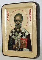 Николай Чудотворец, икона Греческая, 13 Х 17