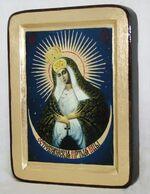 Остробрамская Б.М., икона Греческая, 13 Х 17