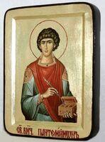Пантелеймон, икона Греческая, 13 Х 17