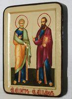 Петр и Павел, икона Греческая, 13 Х 17