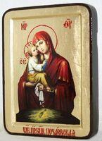 Почаевская Б.М., икона Греческая, 13 Х 17