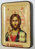 Спаситель, икона Греческая, 13 Х 17