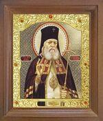 Лука Крымский. Икона в деревянной рамке с окладом (Д-26псо-133)