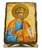Умиление Б.М., икона под старину JERUSALEM прямая (13 Х 17)